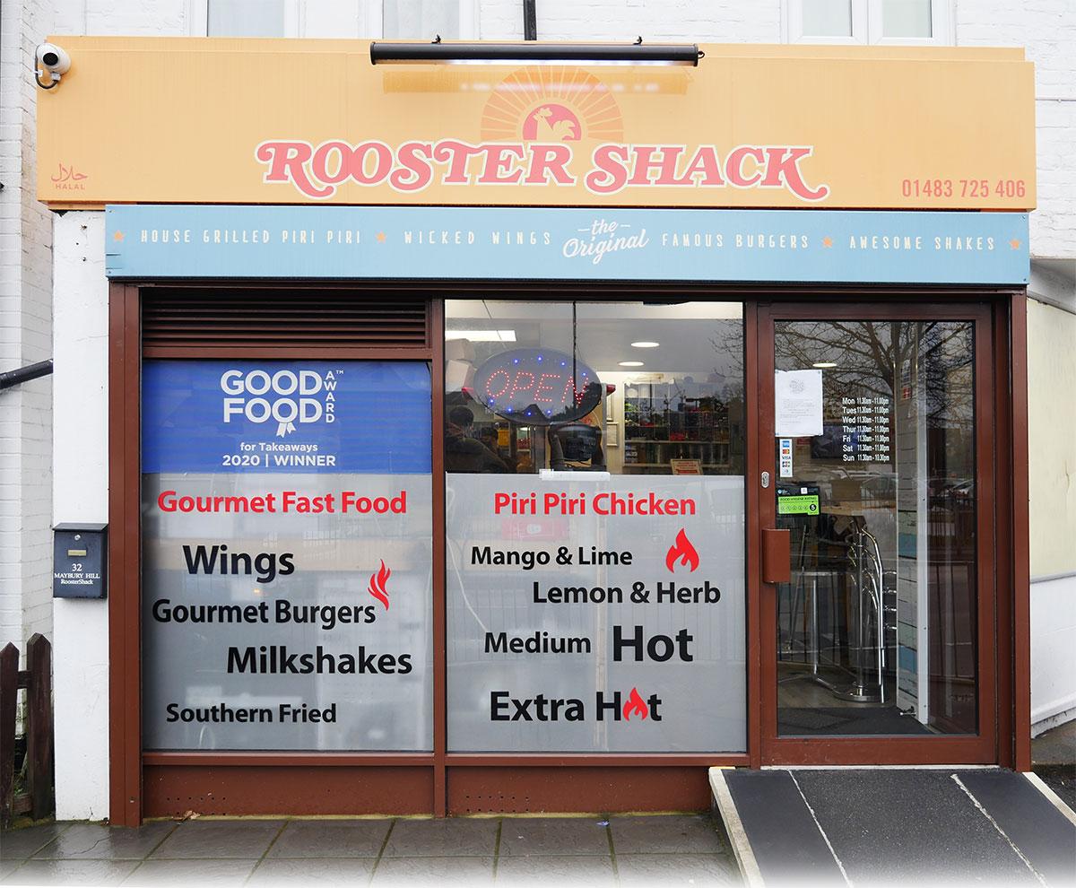 rooster shack woking