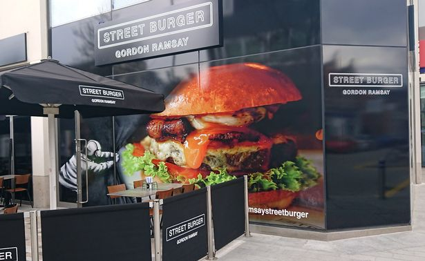 gordon ramsey street burger woking