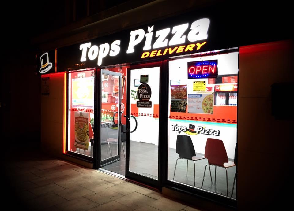 tops pizza woking
